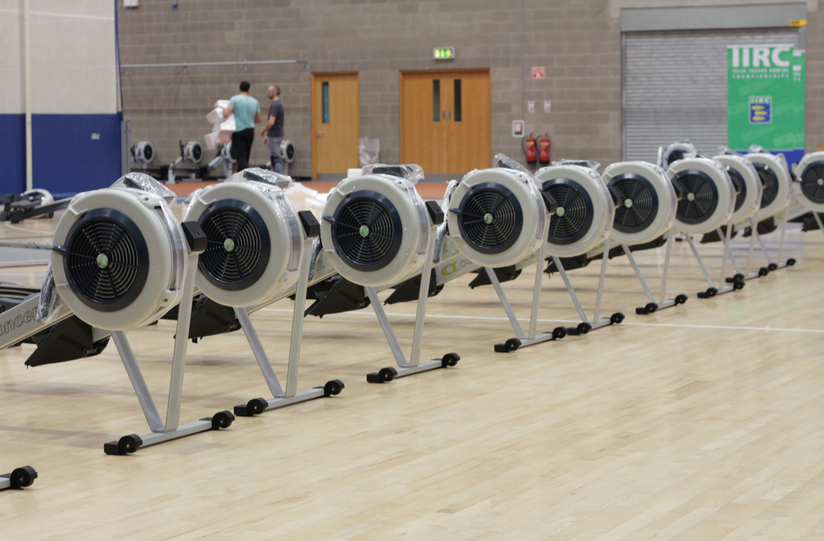 Nice Image of The Ergs during IIRC 2013 Setup