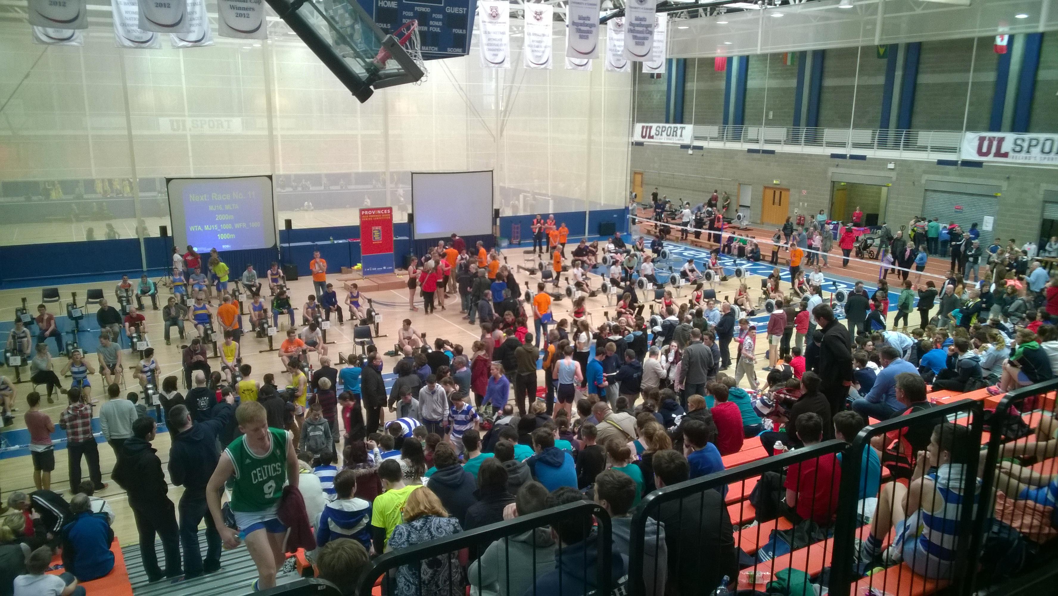 PROVINCES IRC 2019 - Irish Indoor Rowing Championships
